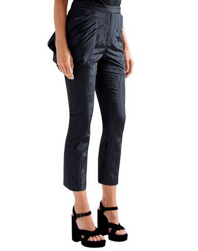 Фото 2 - Повседневные брюки от ROSIE ASSOULIN темно-синего цвета
