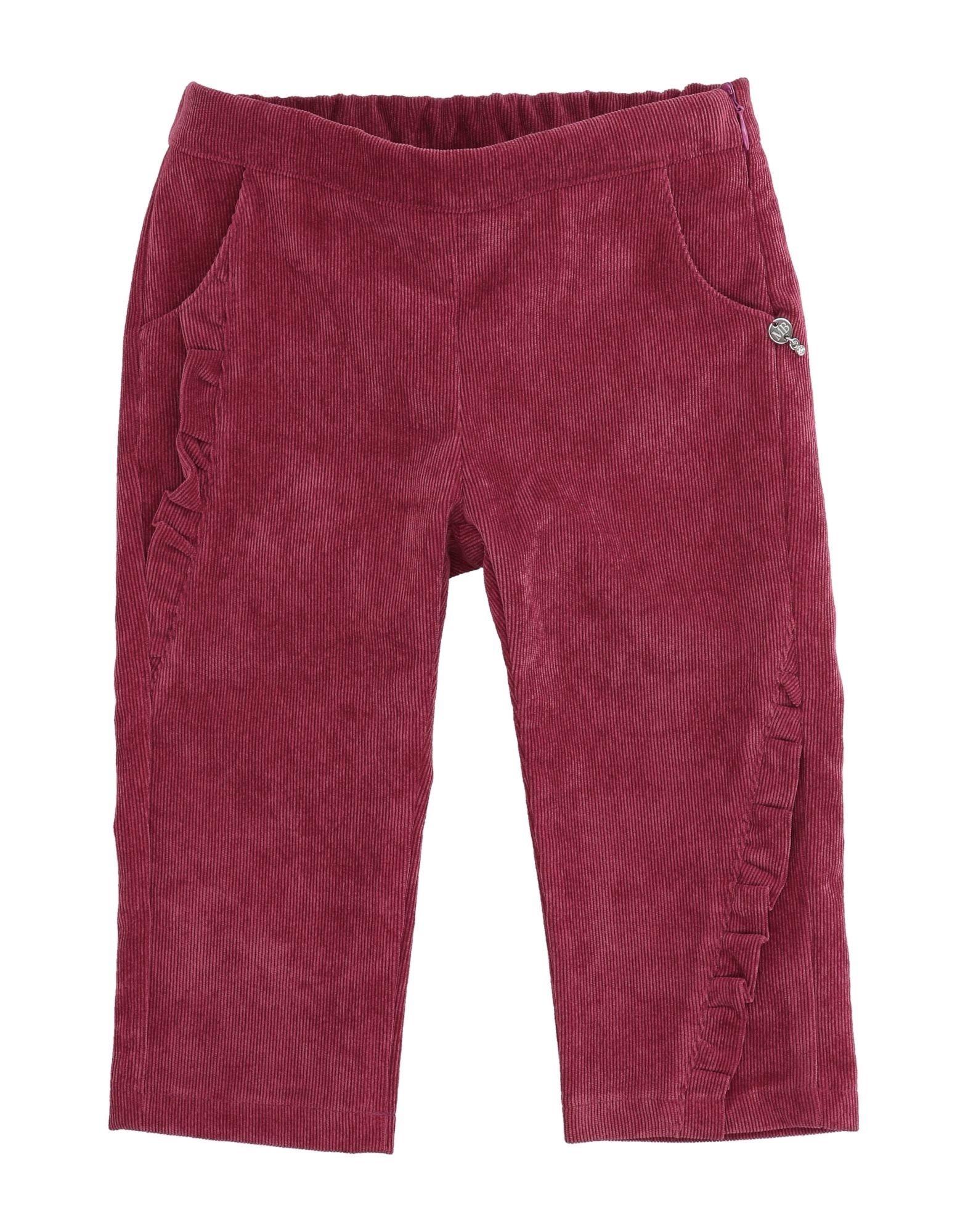 Meilisa Bai Kids' Casual Pants In Burgundy