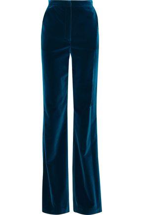 NOVIS The Bianca cotton-velvet bootcut pants
