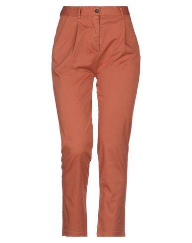 Купить Повседневные брюки от ZHELDA ржаво-коричневого цвета
