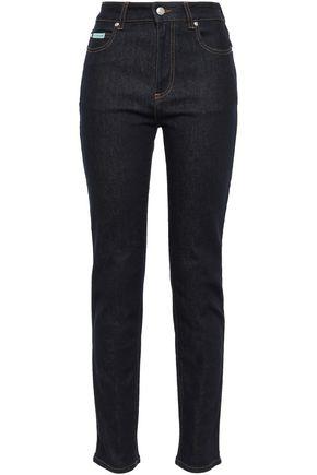 ALEXACHUNG Mid-rise slim-leg jeans