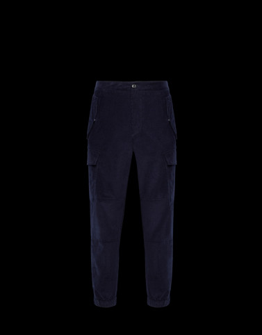 CASUAL TROUSER Blue Trousers
