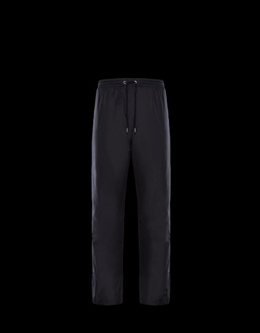 ATHLETIC TROUSERS Black 2 Moncler 1952 Valextra Man