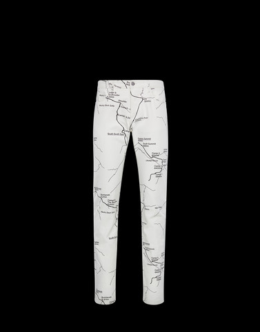 PRINTED TROUSERS White Trousers