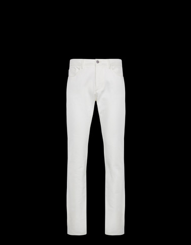 CASUAL PANTS White 2 Moncler 1952 Valextra