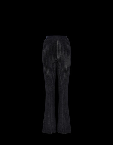 CASUAL TROUSER Black 2 Moncler 1952 Valextra Woman