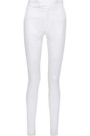 HELMUT LANG Rider stretch-cotton twill skinny pants