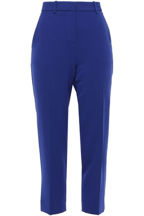 THEORY Treeca cropped crepe tapered pants