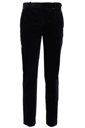 THEORY Cotton-blend corduroy slim-leg pants