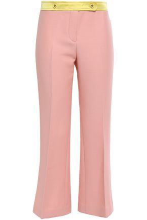 EMILIO PUCCI Wool-blend crepe kick-flare pants