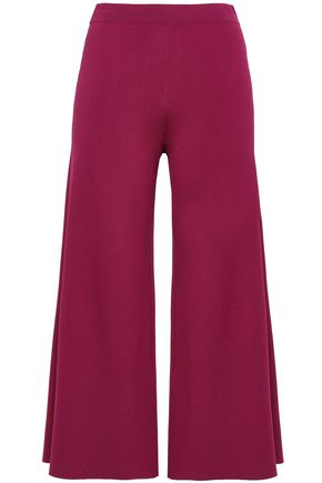 THEORY Stretch-knit culottes