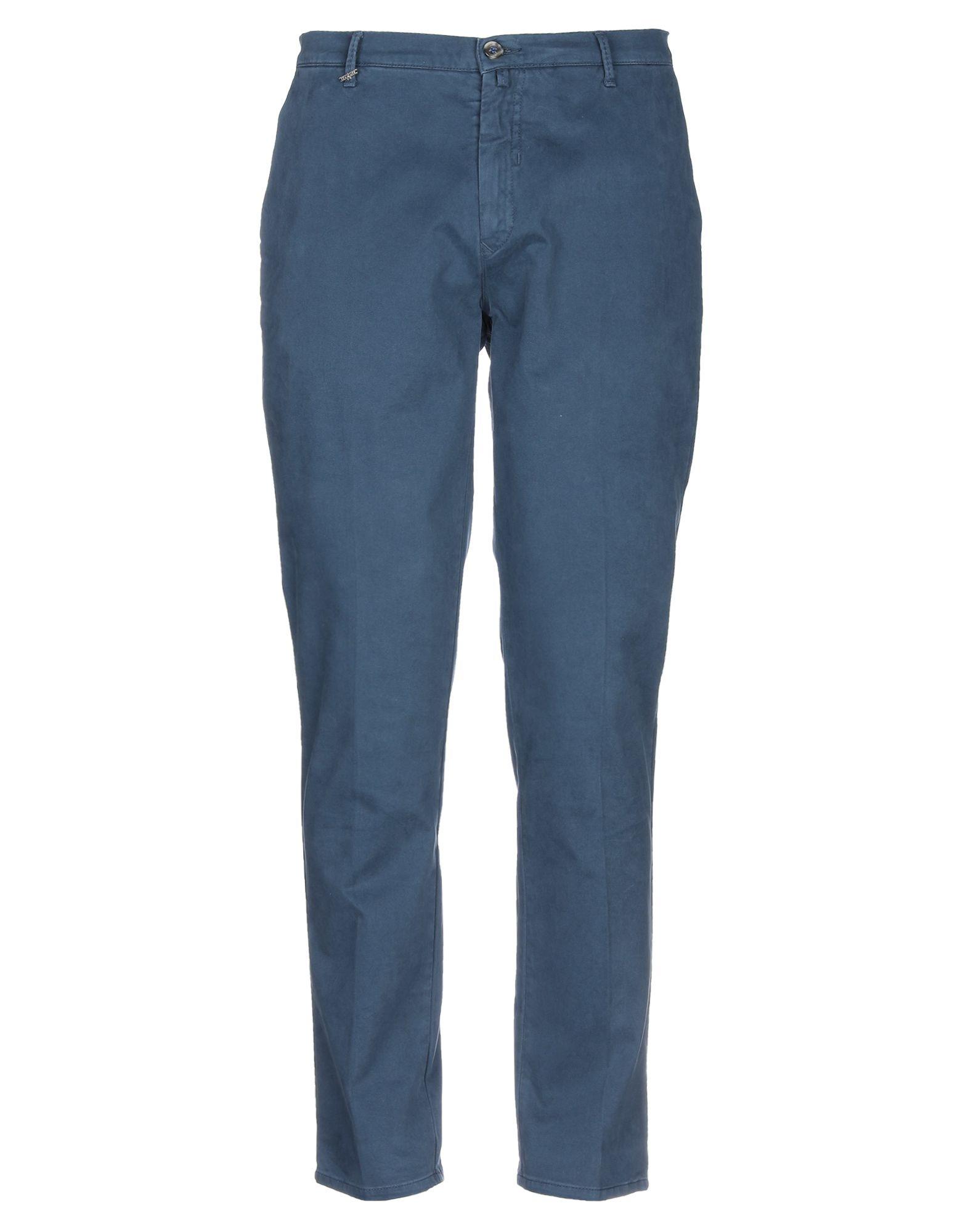 《期間限定 セール開催中》QUOTA OTTO メンズ パンツ ブルーグレー 52 コットン 98% / ポリウレタン 2%