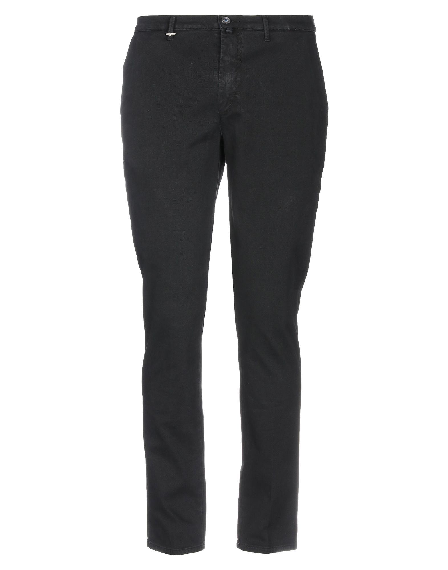 《期間限定 セール開催中》QUOTA OTTO メンズ パンツ ブラック 44 コットン 98% / ポリウレタン 2%