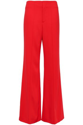 ALICE + OLIVIA Crepe wide-leg pants