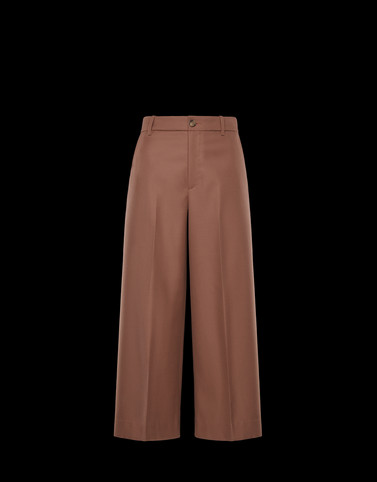 CASUAL PANTS Brown Pants Woman