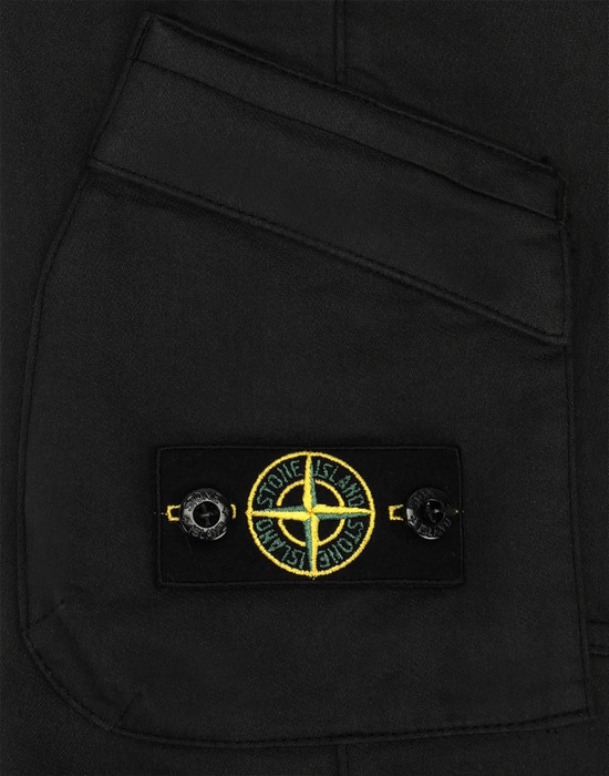13383247ub - PANTS - 5 POCKETS STONE ISLAND JUNIOR