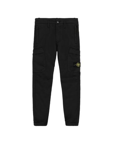 STONE ISLAND JUNIOR Trousers Man 30214  f