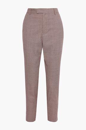 EQUIPMENT Berke houndstooth wool tapered pants
