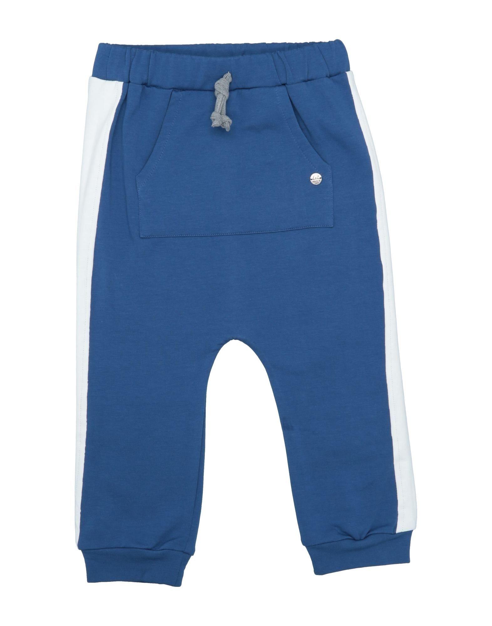 Leo E Lilly Bon Ton Kids' Casual Pants In Blue