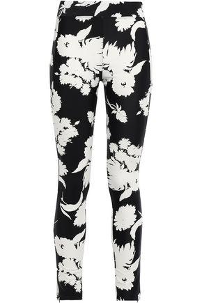 GANNI Alameda floral-print stretch-jersey leggings