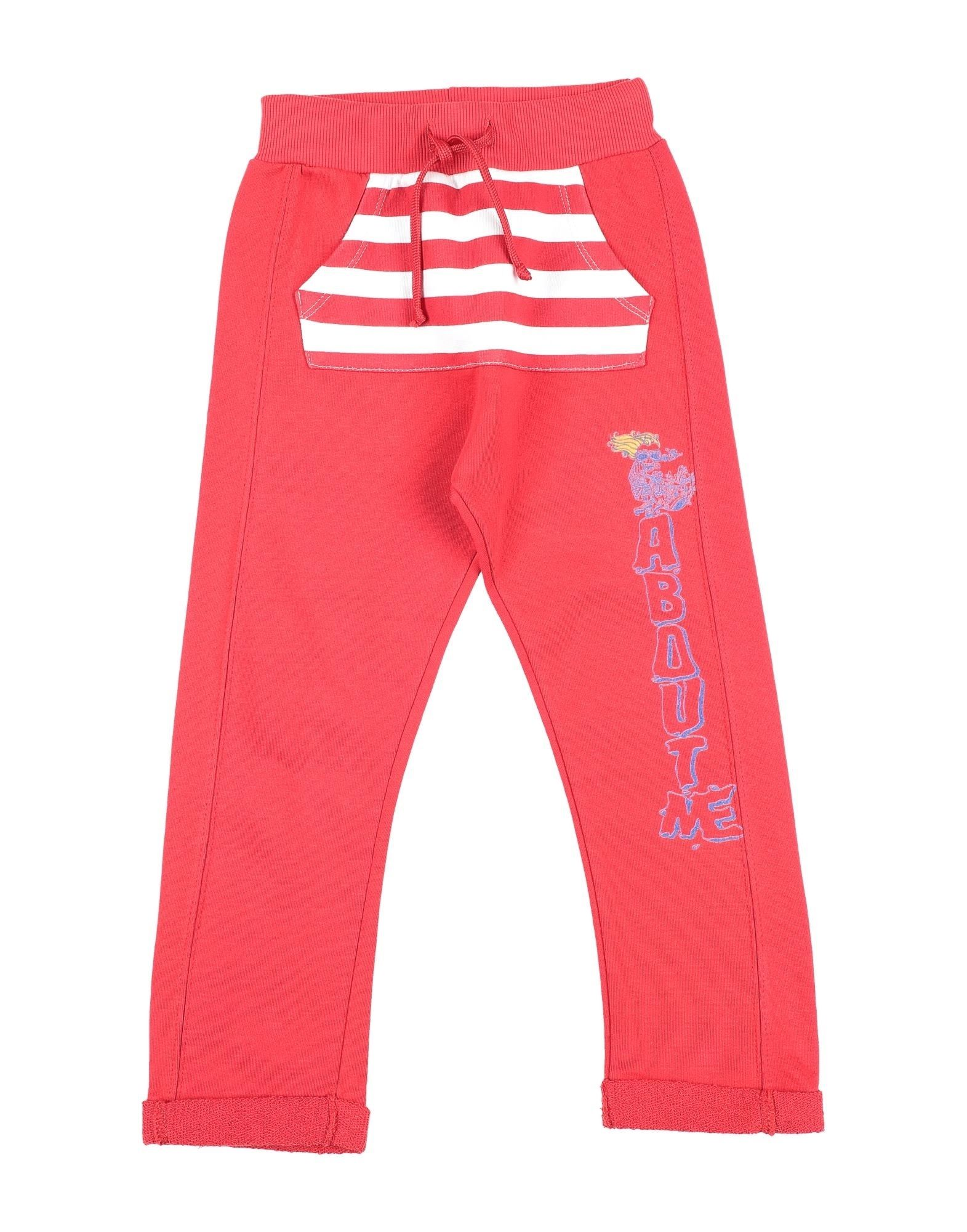 About Me Handmade Kids' Casual Pants In Red
