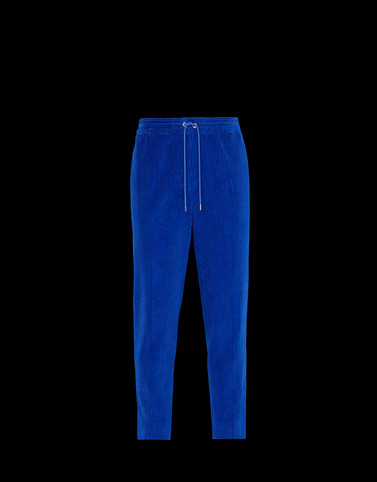 CASUAL TROUSER Bright blue Trousers