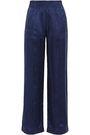 JONATHAN SIMKHAI Silk-jacquard wide-leg pants