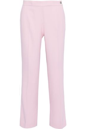 GIAMBATTISTA VALLI Cropped crepe straight-leg pants