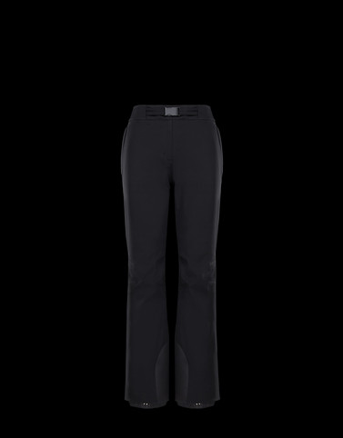 CASUAL PANTS Black Category Casual pants Woman