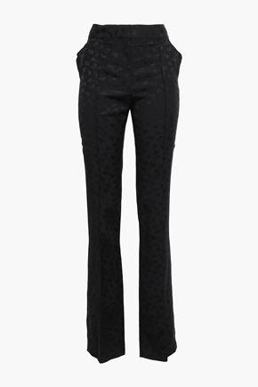 STELLA McCARTNEY Jacquard slim-leg pants