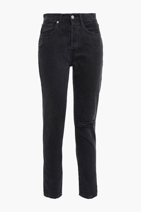 FRAME Banister Road high-rise slim-leg jeans