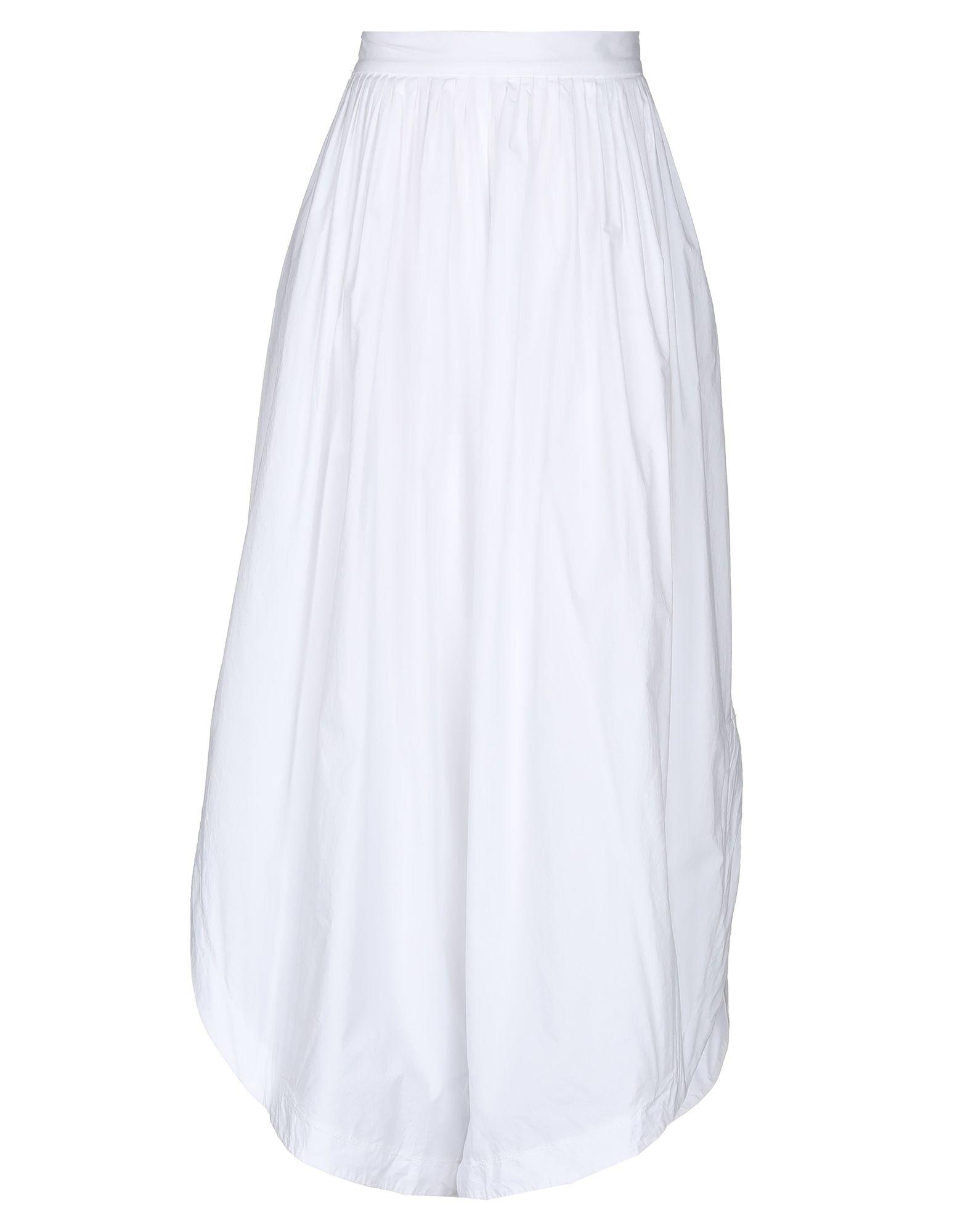 《セール開催中》PAOLO CASALINI レディース パンツ ホワイト S コットン 100%
