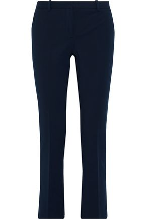 THEORY Stretch-cotton slim-leg pants