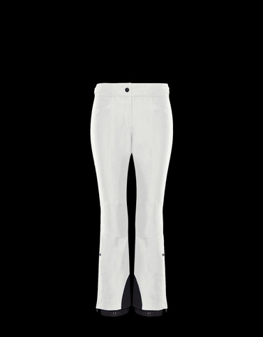 CASUAL PANTS Ivory Category Casual pants Woman