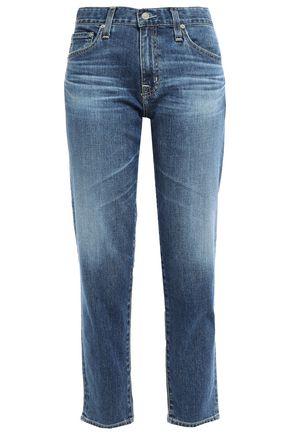 AG JEANS Faded boyfriend jeans