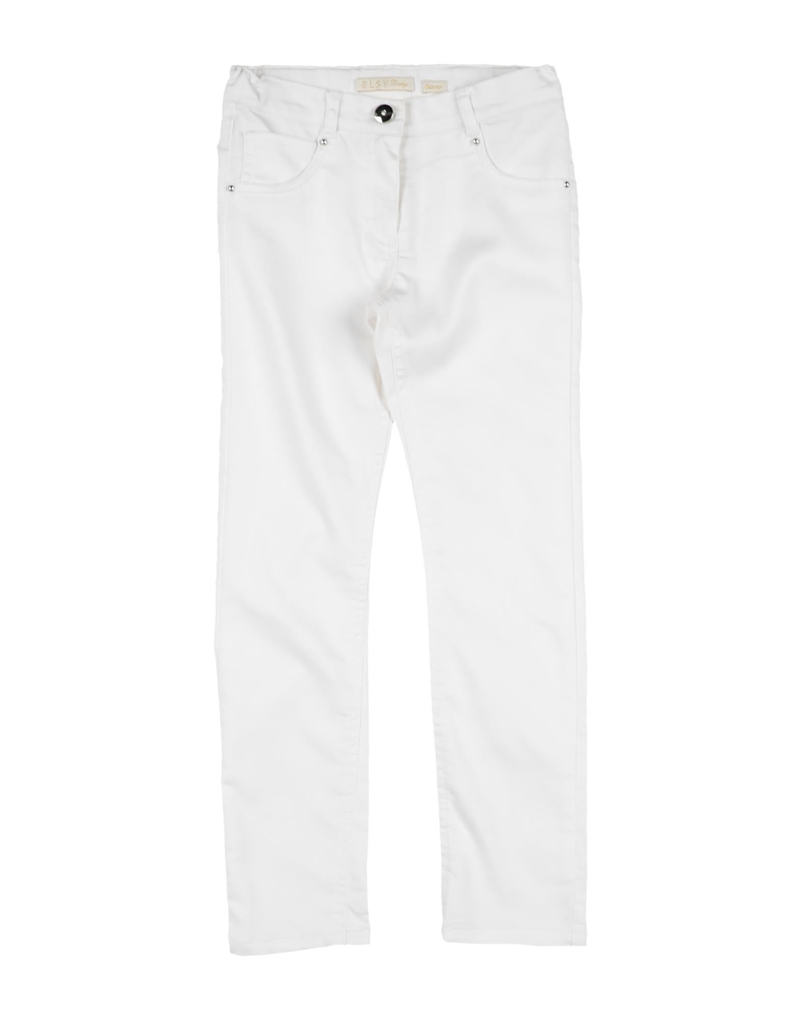 Elsy Kids' Casual Pants In Ivory