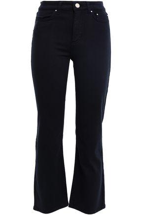 CLAUDIE PIERLOT Mid-rise kick-flare jeans