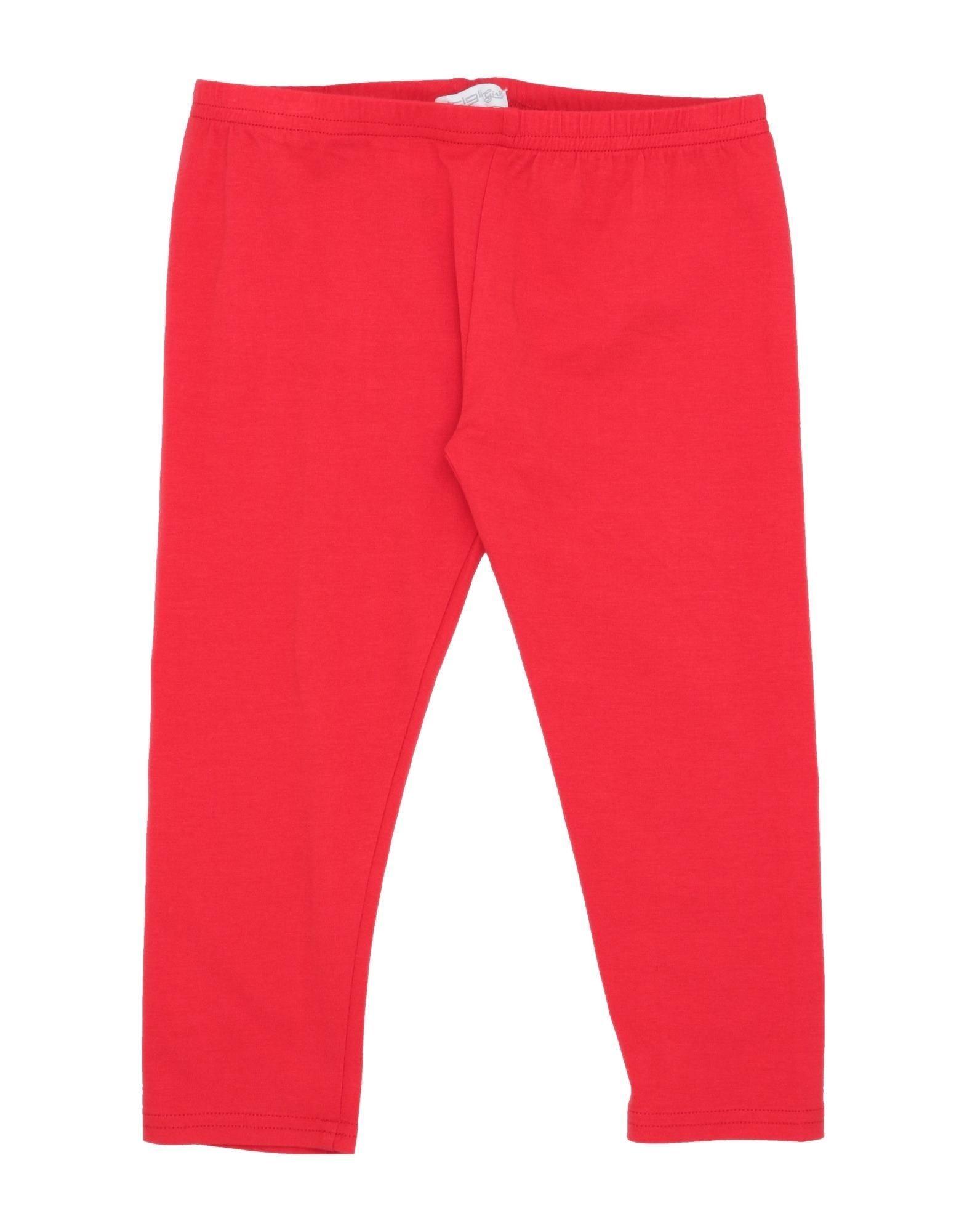 Artigli Girl Kids' Casual Pants In Red
