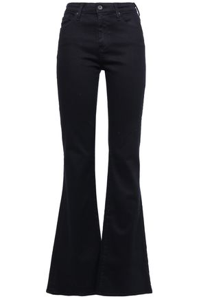 AG JEANS High-rise flared jeans