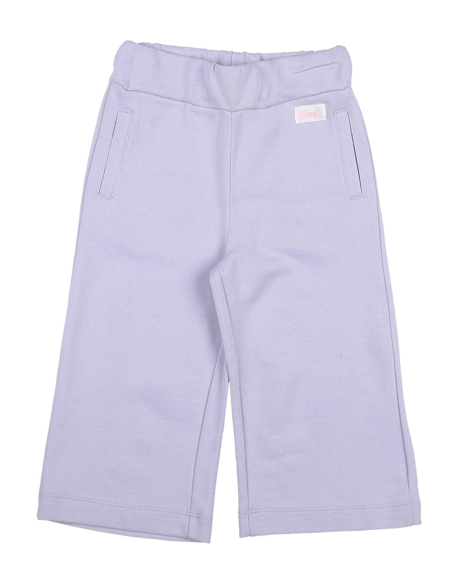 Shoeshine Kids' Casual Pants In Lilac