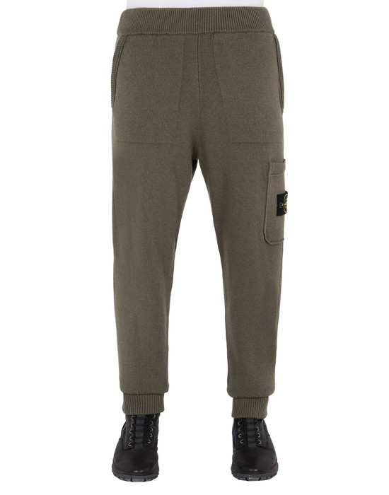 STONE ISLAND KNIT TROUSERS 558A7