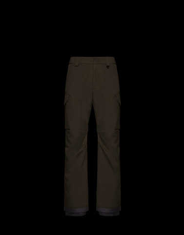 SKI TROUSERS Military green Grenoble Special Man