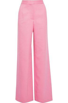 ADAM LIPPES Twill wide-leg pants