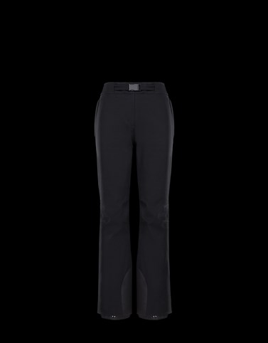 CASUAL TROUSER Black Grenoble Skirts and Trousers