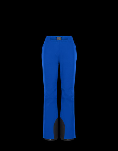 CASUAL TROUSER Blue Trousers Woman