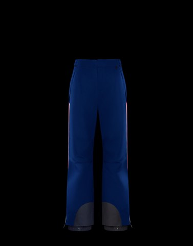 SKI TROUSERS Bright blue Category Ski trousers Man
