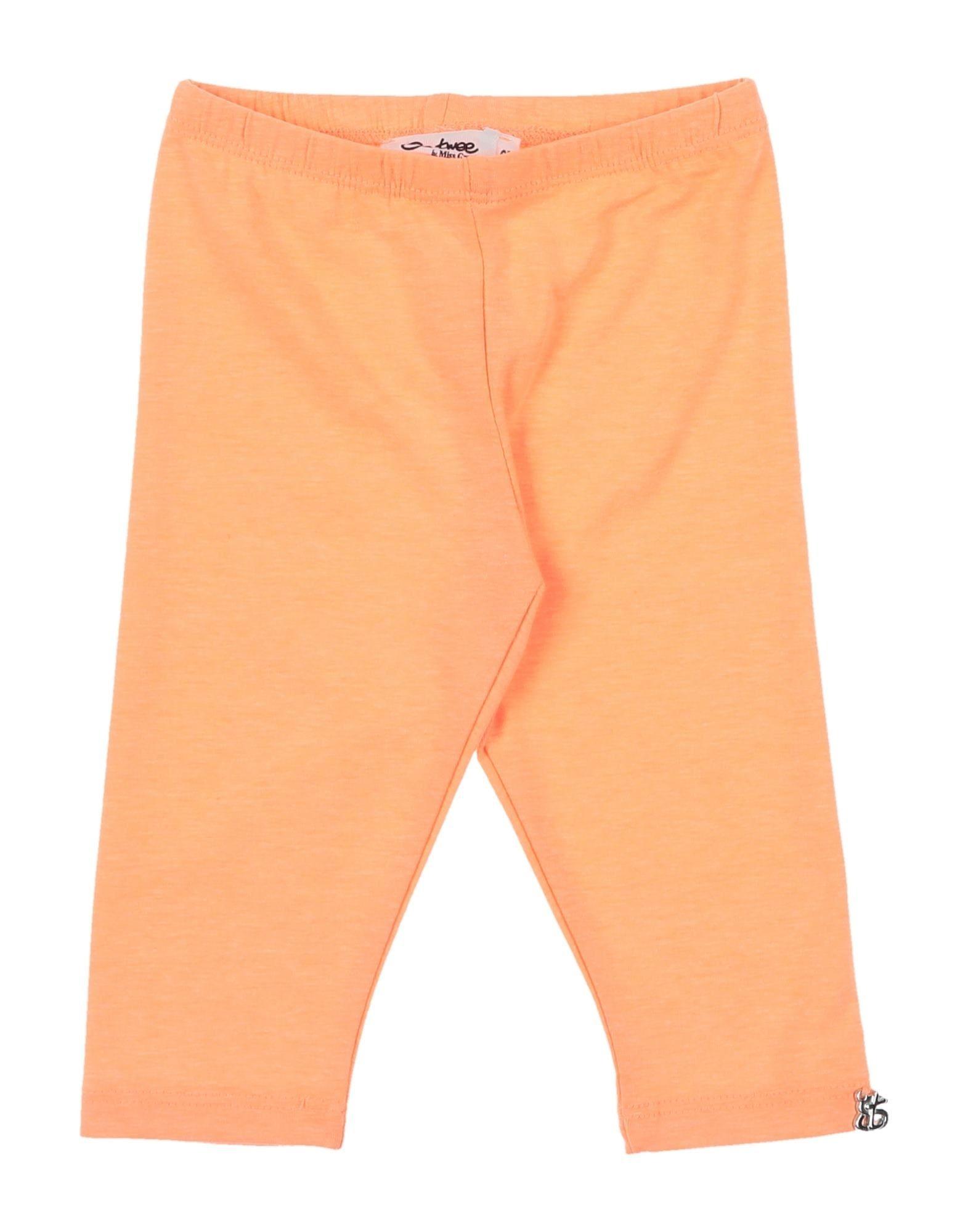 So Twee By Miss Grant Kids' Leggings In Orange