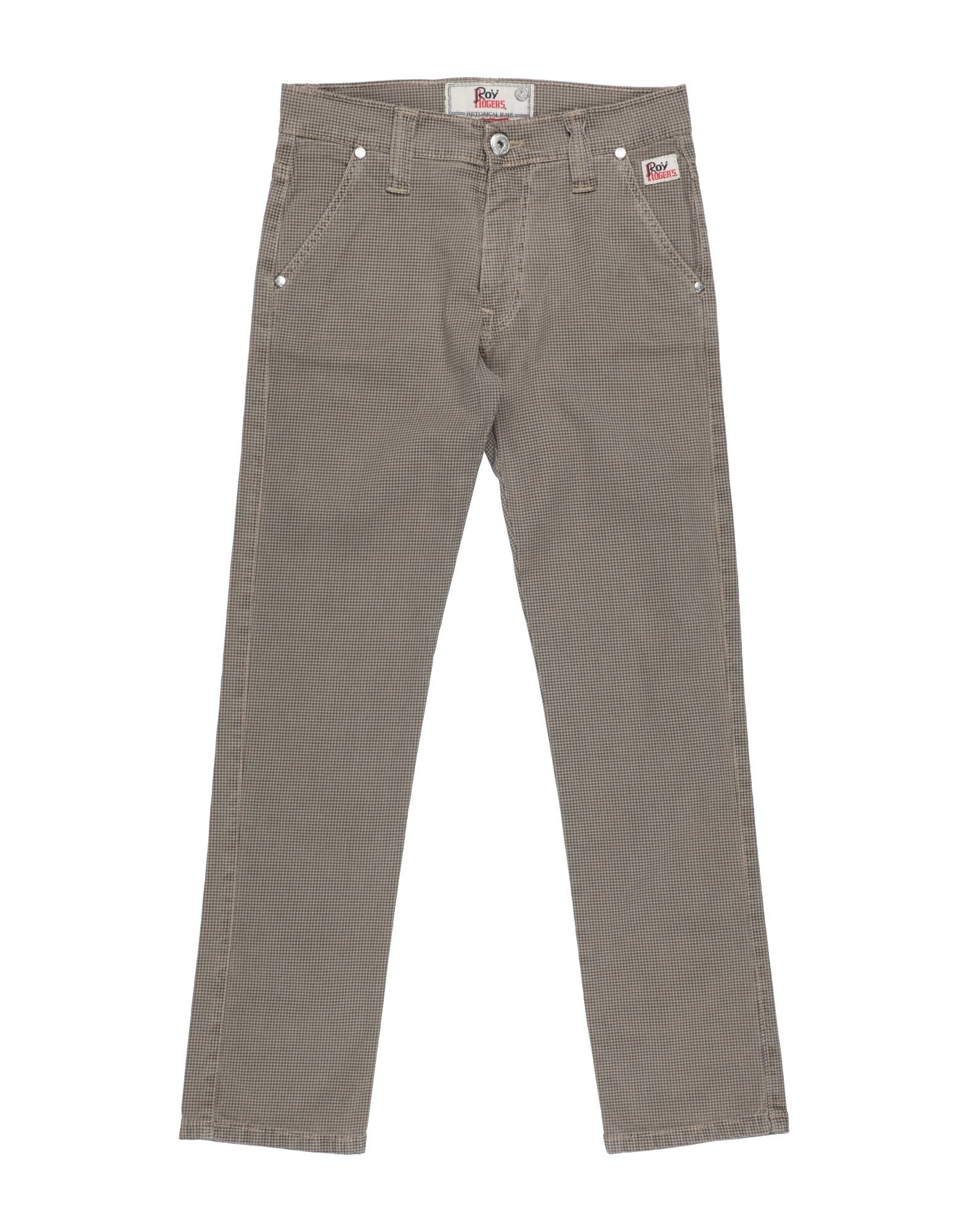 Roy Rogers Kids' Casual Pants In Gray