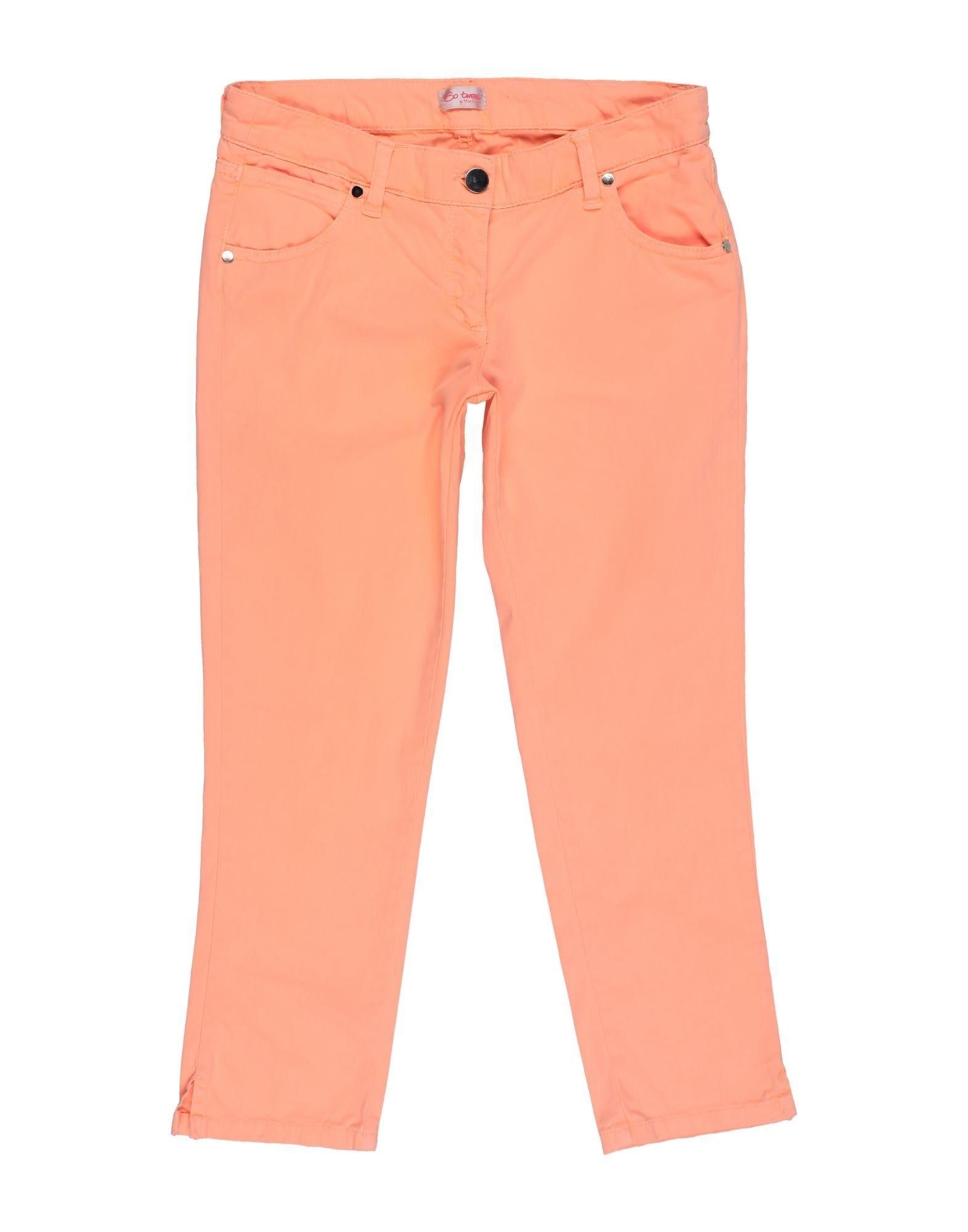 So Twee By Miss Grant Kids' Casual Pants In Orange