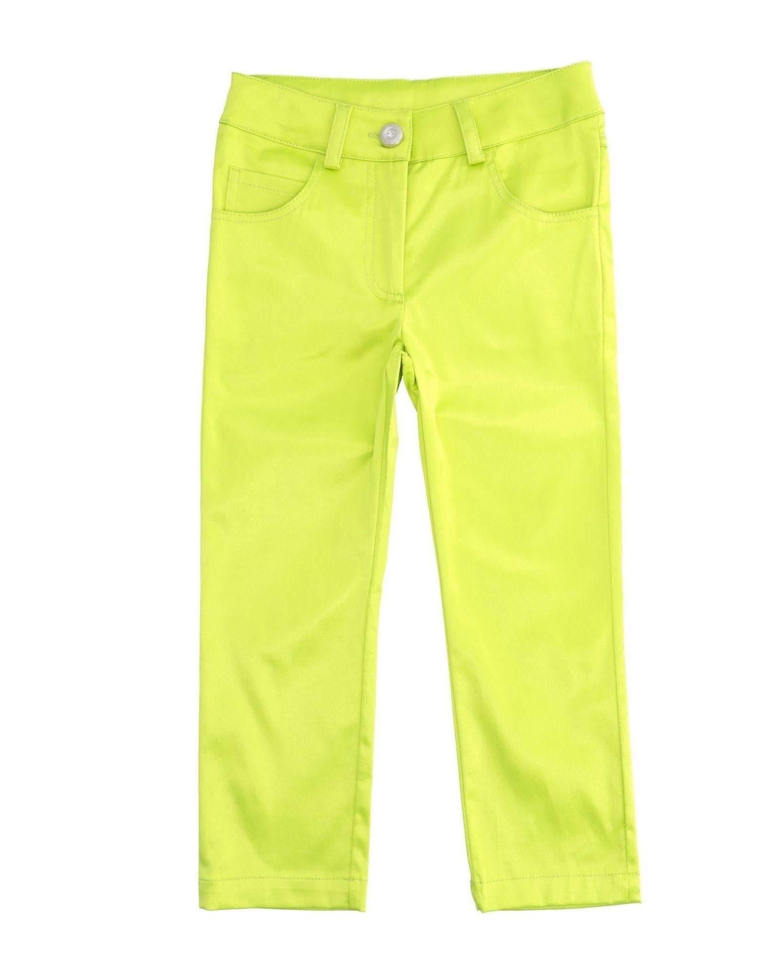 Alice Pi. Kids' Casual Pants In Green